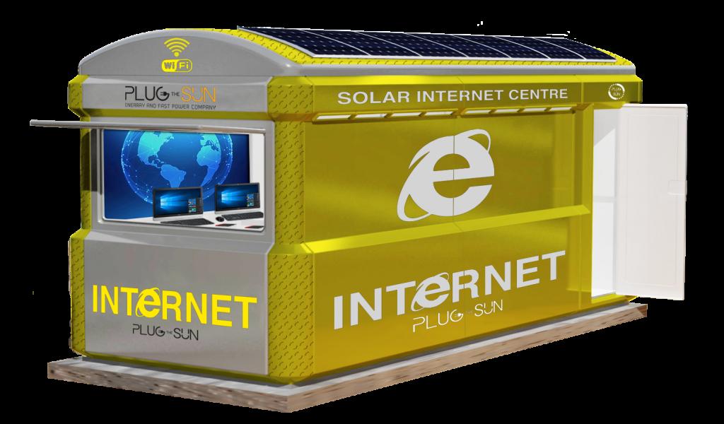 rayvill mobile solar-powered internet point external