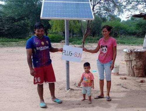 Proceso de instalaciones en zonas rurales de electrificación en Argentina.